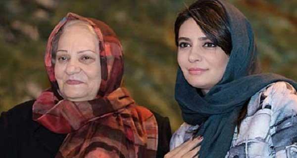 لیندا کیانی و مادرش ، عکس لیندا کیانی در کنار مادرش