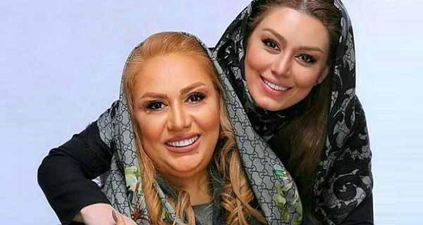 سحر قریشی و مادرش, عکس سحر قریشی و مادرش ندا افشار