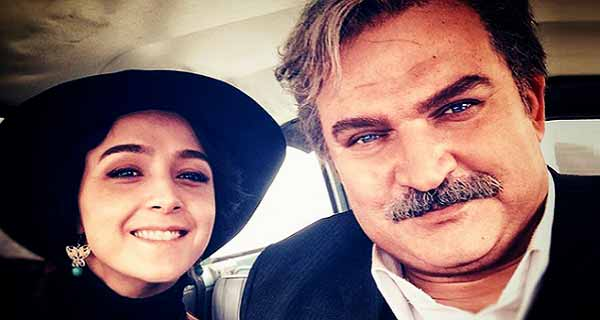 مهدی سلطانی و ترانه علیدوستی در پشت صحنه سریال شهرزاد