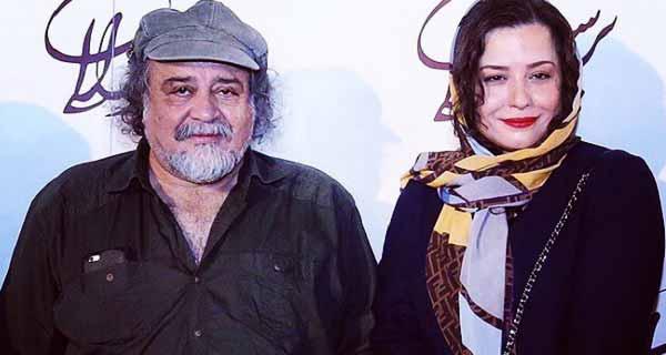 عکس ملیکا شریفی نیا و پدرش  محمدرضا شریفی نیا