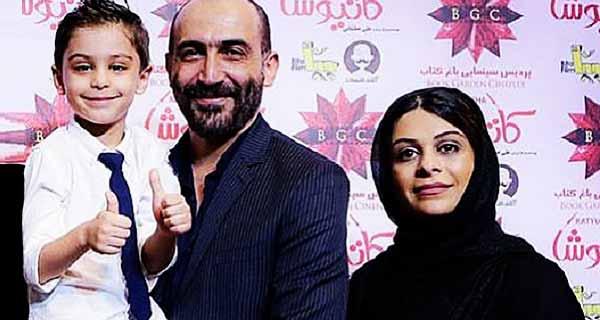هادی حجازی فر و همسرش الهام محمودی و پسرش هامون ، همسر هادی حجازی فر کیست؟