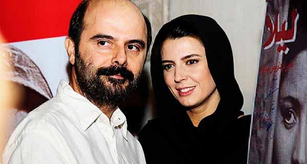 لیلا حاتمی و همسرش ، ج لیلا حاتمی و علی مصفا