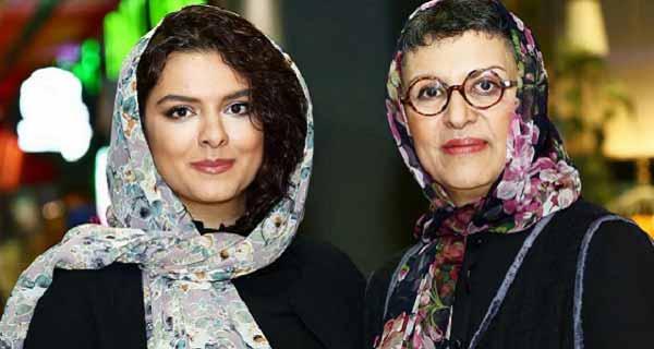 همسر و دختر مسعود رایگان ، رویا تیموریان و دخترش دنیا مدنی ، دختر مسعود رایگان