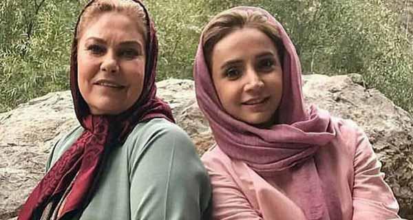 عکس مهرانه مهین ترابی و شبنم قلی خانی