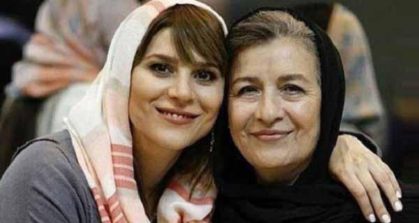 سحر تشاهی و مادرش ، ع مادر سحر تشاهی