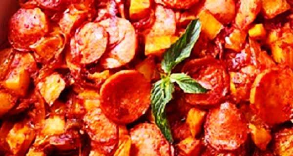 دستور پخت سوسیس بندری ، طرز تهیه سوسیس بندری با قارچ و پنیر پیتزا و فلفل دلمه ای ، طرز تهیه سوسیس بندری سیب زمینی ، ساندویچ سوسیس بندری