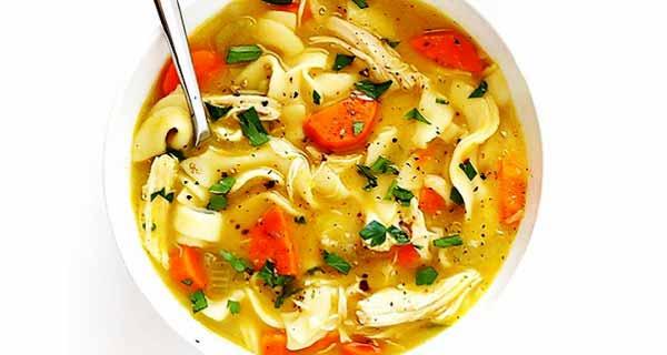 سوپ مرغ ، طرز تهیه سوپ مرغ ، دستور پخت سوپ مرغ ساده ، مواد لازم سوپ مرغ ، سوپ مرغ با هویج و سیب زمینی و سبزیجات