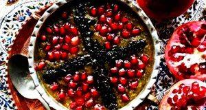 دستور پخت آش انار ، طرز تهیه آش انار ، مواد لازم آش انار ، آموزش روش تهیه آش انار برای شب یلدا ، ash anar