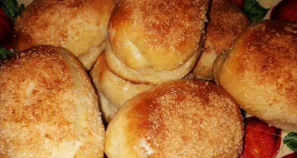 نان نارگیلی ، طرز تهیه نان نارگیلی یزدی و تبریز قالبی ، دستور تهیه نان نارگیلی خوشمزه بدون فر ، nane nargili
