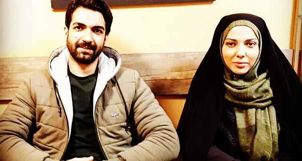 ع رضا اکب ور و لیلا اوتادی ، رضا اکب ور و لیلا اوتادی در سریال حوالی پاییز