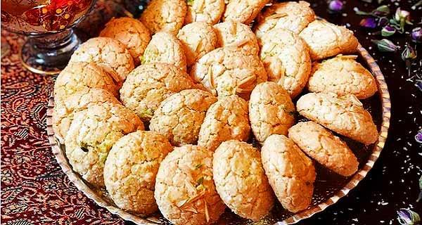 شیرینی نارگیلی ، نان نارگیلی ، طرز تهیه شیرینی نارگیلی خوشمزه و بازاری ، دستور پخت شیرینی نارگیلی پفکی ، shirini nargili