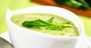 سوپ اسفناج ، طرز تهیه سوپ اسفناج با خامه ، دستور پخت سوپ اسفناج خوشمزه و مخصوص ، soup esfenaj