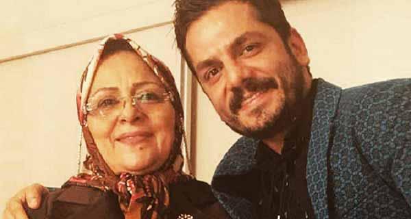 عباس غزالی ، عکس مادر عباس غزالی ، عباس غزالی و مادرش