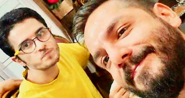 عباس غزالی و برادرش یونس غزالی