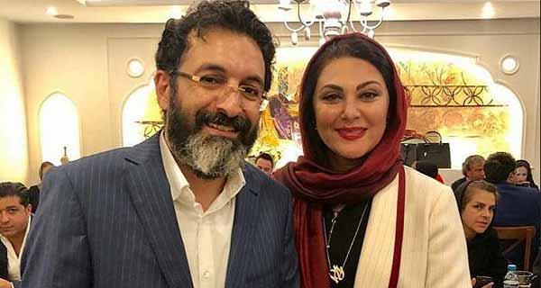 عکس لاله اسکندری و همسرش ، همسر لاله اسکندری کیست؟ ، لاله اسکندری و شوهرش ساسان فیروزی