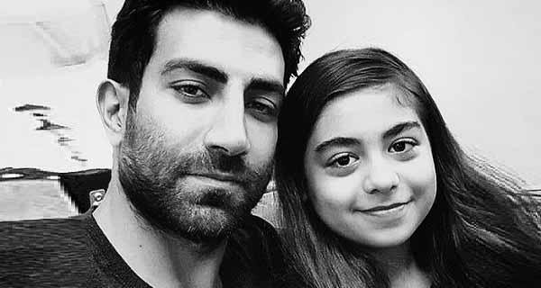 آرش مهاجر همسر نازنین کیوانی ، عکس دختر نازنین کیوانی و پدرش