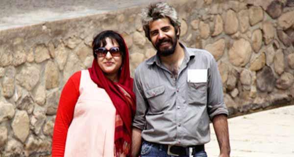 عکس  سلمان فرخنده و همسرش ، همسر سلمان فرخنده ، سلمان فرخنده و همسرش میترا مومنی
