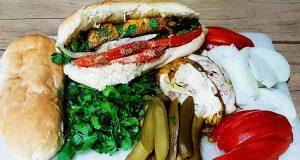 ساندویچ مغز ، دستور پخت ساندویچ مغز و سرخ کردن مغز ، طرز تهیه ساندویچ مغز و زبان با قارچ ، sandwich magz
