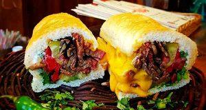 طرز تهیه ساندویچ زبان خوشمزه خانگی ، دستور تهیه و پخت و درست کردن ساندویچ زبان مخصوص در خانه ، مواد لازم ساندویچ زبان ، sandwich zaban