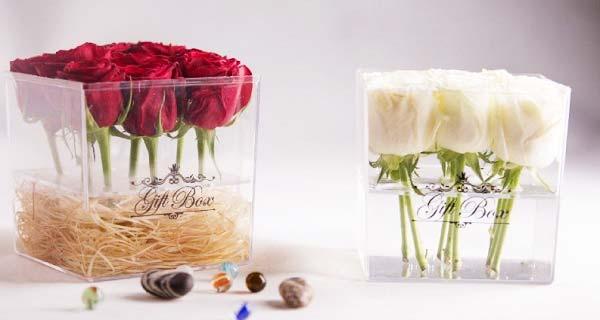 خرید باکس گل ، خرید جعبه گل ارزان قیمت خالی ، خرید باکس گل  زیبا و شیک لاکچری با ارسال فوری برای هدیه دادن