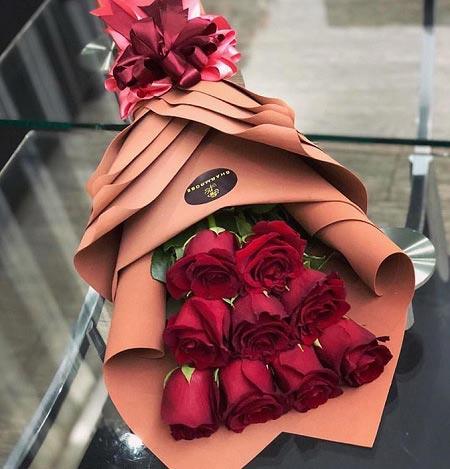 تصاویر انواع دسته گل رز زیبا برای مراسم خواستگاری