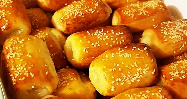 شیرینی دانمارکی ، دستور پخت شیرینی دانمارکی خوشمزه و مخصوص ، مواد لازم کرم و شیرینی دانمارکی خانگی زعفران بدون فر و ماکروفر ، shirini danmarki