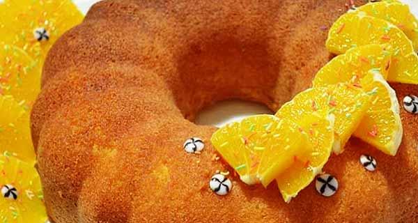 کیک نارنگی خوشمزه و مجلسی ساده ، دستور تهیه کیک نارنجی برای  کودکان ، آموزش کیک نارنگی + تزیین با سس مخصوص نارنگی ، cake-tangerine