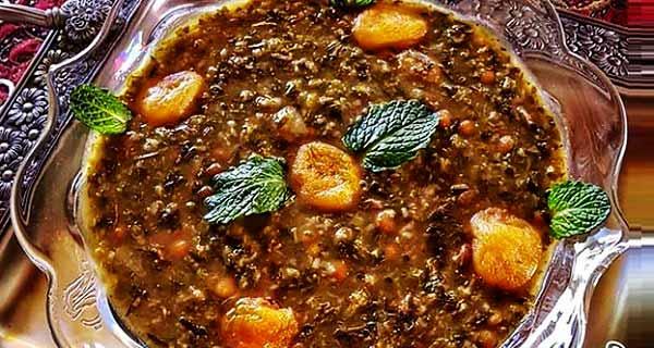 آش آلو، طرز تهیه و مواد لازم پخت آش آلو بخاطر و آلو اسفناج خوشمزه و مجلسی برای سرماخوردگی به صورت ترش، خواص آش آلو و آلوچه بدون گوشت