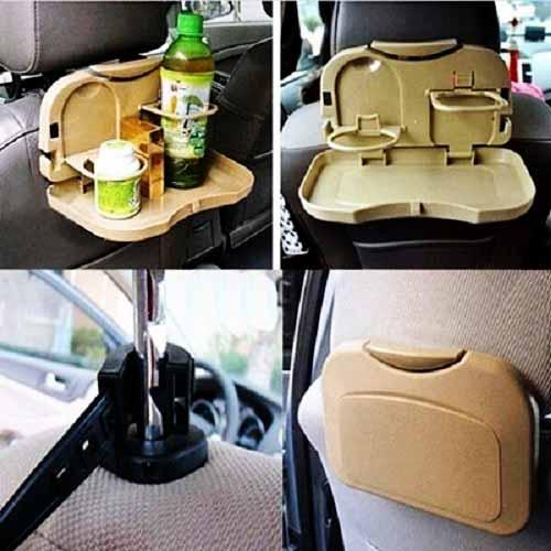 سینی غذا برای صندلی خودرو، سنی خوراکی پشت صندلی خودرو و ماشین