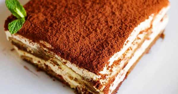 دسر تیرامیسو، طرز تهیه دسر تیرامیسو قالبی خوشمزه، آموزش مرحله به مرحله و تصویری دستور پخت دسر تیرامیسو در خانه، dessert-tiramisu