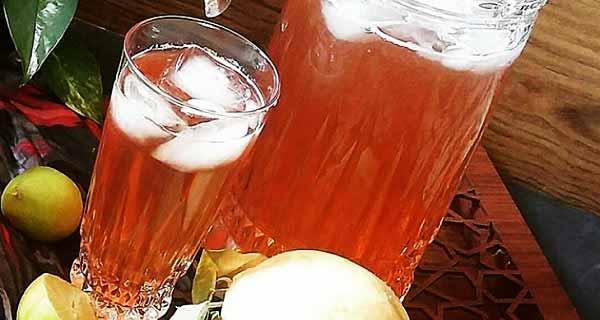 شربت به لیمو ، دستور پخت و طرز تهیه شربت به لیمو خوشمزه و مخصوص، مزاج شربت به لیمو و طرز تهیه آن از مربای به، مواد لازم شربت به لیمو برای 4 نفر