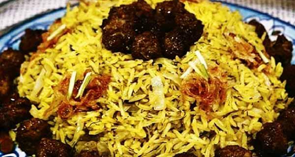 کلم پلو شیرازی خوشمزه و مجلسی, طرز تهیه و پخت کلم پلو شیرازی با کلم قمری در منزل, kalam polo