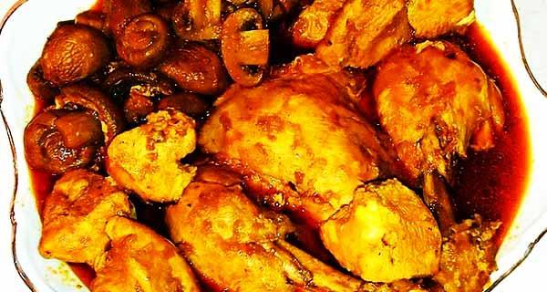 خورش قارچ و مرغ، طرز تهیه و درست کردن خورش قارچ و مرغ اصل خوشمزه و مجلسی در منزل