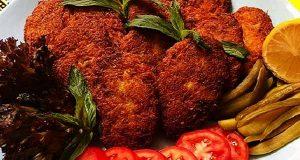 کتلت گوشت ، آموزش آسان طرز تهیه و پخت کتلت گوشت یا همان شامی کباب خانگی خوشمزه و مجلسی در منزل به همراه مواد لازم کتلت گوشت، kotlet goosht