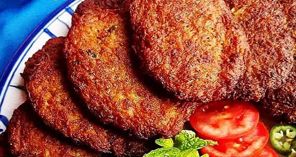 کتلت مرغ، طرز تهیه و پخت کتلت مرغ خوشمزه و مجلسی مرحله به مرحله برای 4 تا 5 نفر، kotlet-morgh