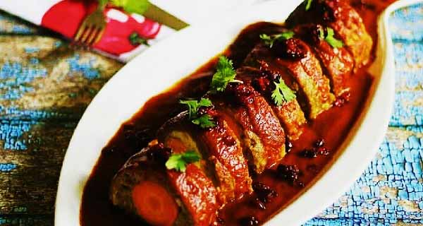 رولت گوشت، طرز تهیه رولت گوشت خوشمزه و مجلسی مرحله به مرحله, آموزش درست کردن رولت گوشت تصویری, rolet gosht