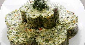 سالاد شوید، طرز تهیه و درست کردن سالاد شوید خوشمزه و مجلسی با سیب زمینی، مرغ و خیارشور مرحله به مرحله، salad shevid