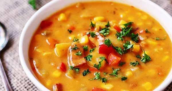 سوپ گندم، طرز تهیه و پخت سوپ گندم خوشمزه و مقوی در منزل به صورت مرحله به مرحله برای کودکان و نوزادان، soup-gandom
