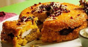 ته چین مرغ، طرز تهیه و درست کردن ته چین مرغ خوشمزه و مجلسی در فر و قابلمه برای 4 و 6 نفر، tahchin-morgh