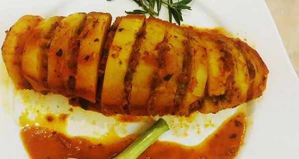 رولت سیب زمینی، طرز تهیه و پخت رولت سیب زمینی خوشمزه و مجلسی در منزل به روشی متفاوت, roulette sibzamini