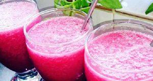 یخ در بهشت توت فرنگی ، طرز تهیه و درست کردن یخ در بهشت توت فرنگی به صورت خوشمزه و مجلسی در منزل