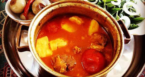 آبگوشت ، طرز تهیه و پخت آبگوشت خوشمزه ساده و خانگی و مجلسی در منزل به روشی متفاوت ، abgoosht