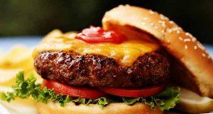 همبرگر ، طرز تهیه همبرگر خانگی خوشمزه و مخصوص به سبک و روش رستورانی مرحله به مرحله ، hamburger