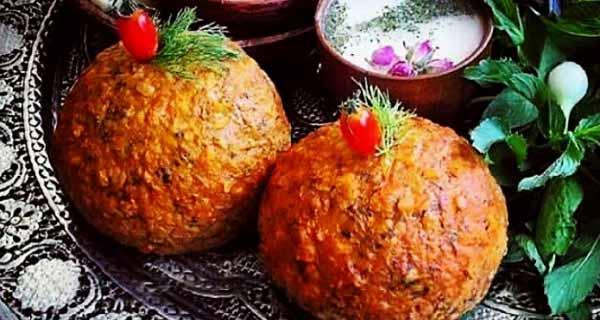 کوفته تبریزی ، طرز تهیه و پخت کوفته تبریزی خوشمزه و مجلسی در منزل برای 2 تا 4 نفر ، koofteh tabrizi