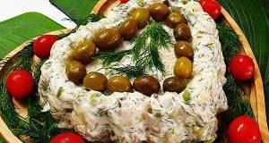 سالاد سیب زمینی ، طرز تهیه و درست کردن سالاد سیب زمینی خوشمزه و مجلسی با خیارشور و جعفری در منزل ، salad-sibzamini
