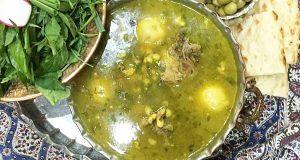 آبگوشت بزباش ، طرز تهیه و پخت آبگوشت بزباش همدانی خوشمزه و مجلسی در منزل برای 2 تا 4 نفر