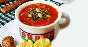 سوپ لوبیا سفید ، طرز تهیه و درست کردن سوپ لوبیا سفید خوشمزه و مجلسی در منزل ، soap-loobia-sefid