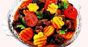 تاس کباب ، آموزش آشپزی طرز تهیه و پخت تاس کباب خوشمزه سنتی و مجلسی در منزل با گوشت گوسفندی