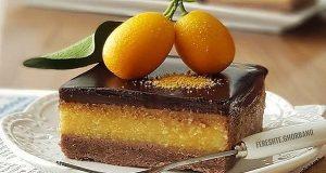 دسر پرتقال شکلاتی ، آموزش کامل طرز تهیه پرتقال شکلاتی خوشمزه و مجلسی در منزل