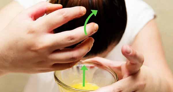ماسک سفیده تخم مرغ برای مو ، فواید سفیده تخم مرغ برای رشد و جلوگیری از ریزش و تقویت مو ، egg whitening mask for hair